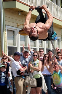 Pogo Fred awesome pogo tricks and stunts